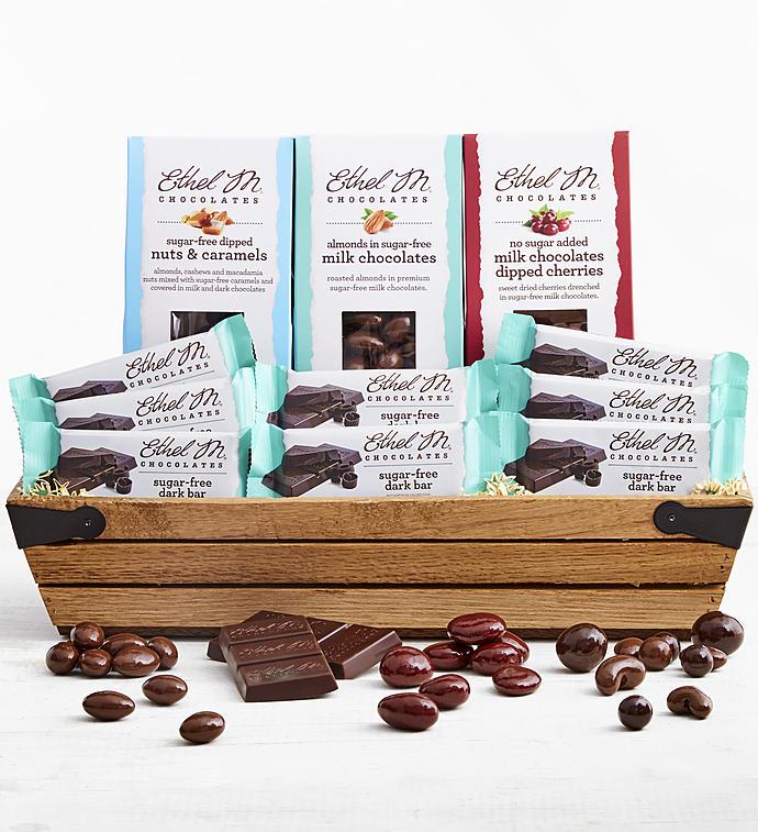 Ethel M Chocolates Sugar Free Gift Crate